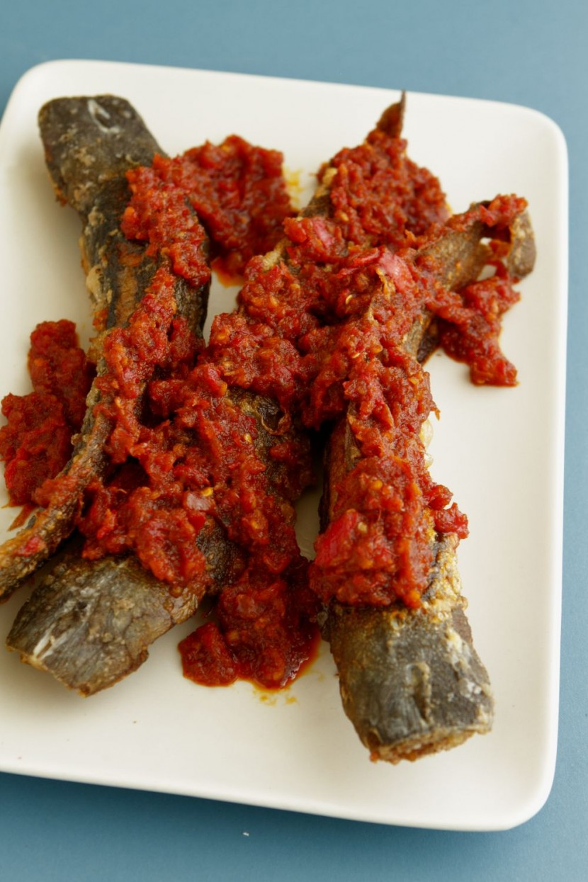 Fried catfish with tempoyak sambal_1