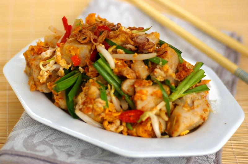 Stir-fried steamed radish cake - Cover