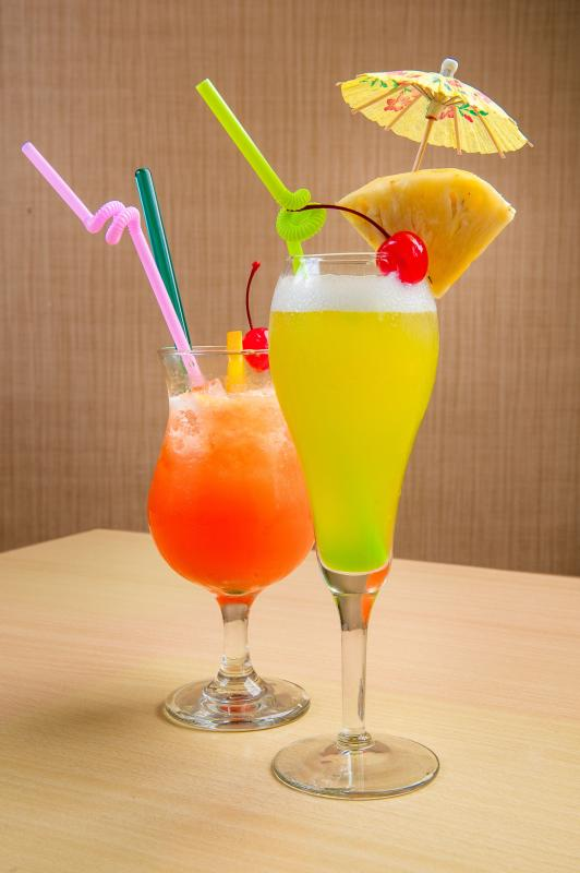The refreshing Mocktail and  Islander Cocktail perfect to quench your thirst.