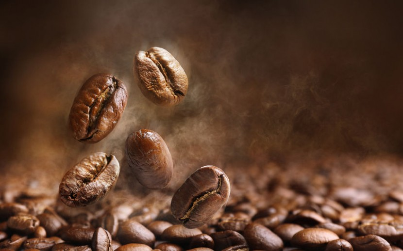 38027460 - coffee beans close up