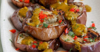 Grilled Eggplant with Chermoula 2.