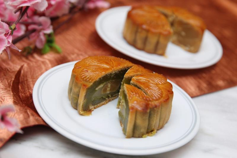 Indulge yourself in some traditional mooncakes for the upcoming Mid-Autumn festival.