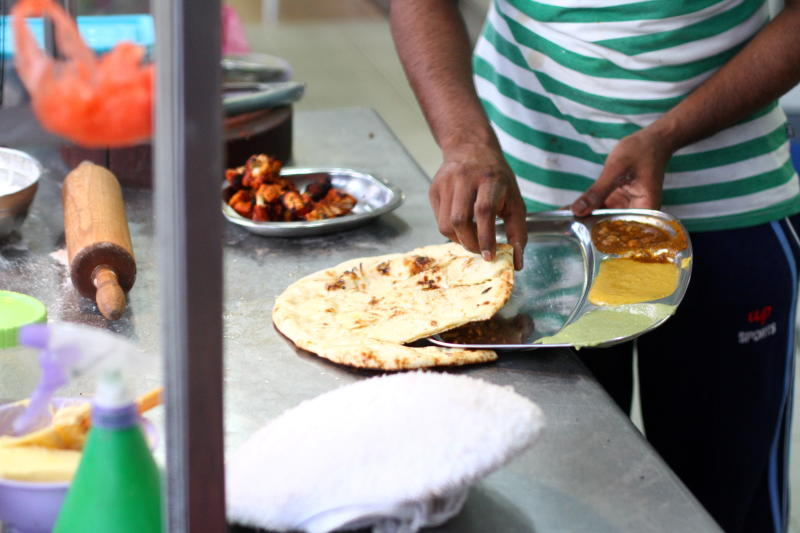 Irfan, who is passionate in making the naan said leaving the dough to ferment a longer time lends a better taste and texture.
