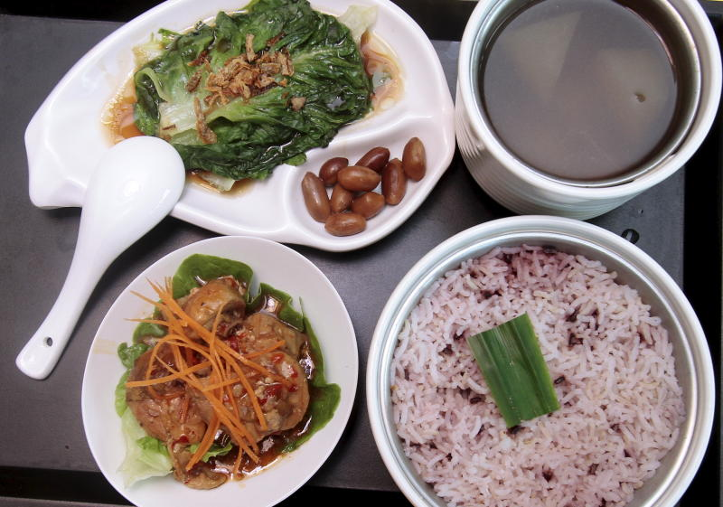 meal pork fried rice meal pork fried rice meal pork fried rice steamed ...