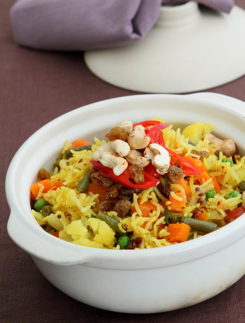 Vegetable Rice.