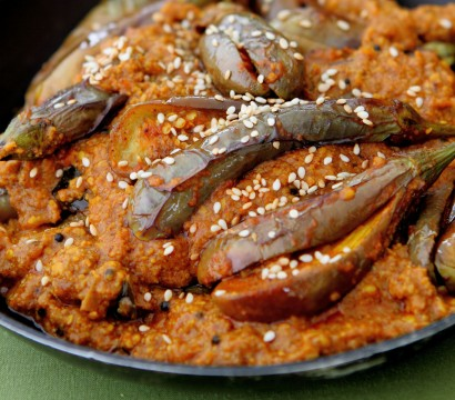 Baingan Masala (Brinjals cooked in Spices)