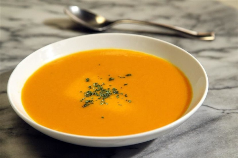 Carrot Ginger Orange Soup.