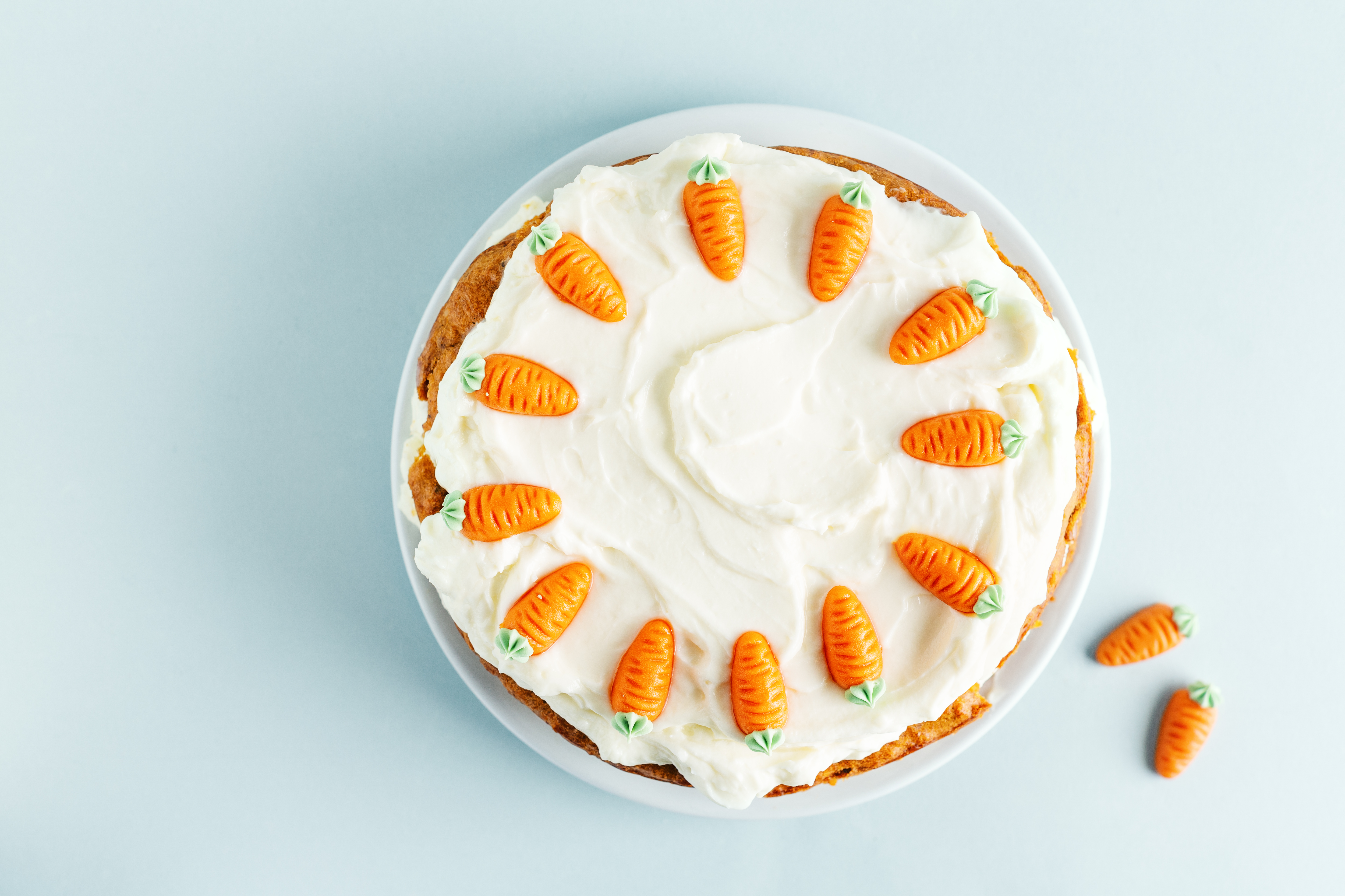 Orange Carrot Cake with Cream Cheese Frosting