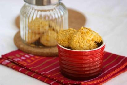 Suji Cornflake Cookies.