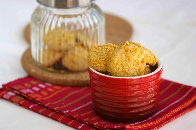 Suji Cornflake Cookies
