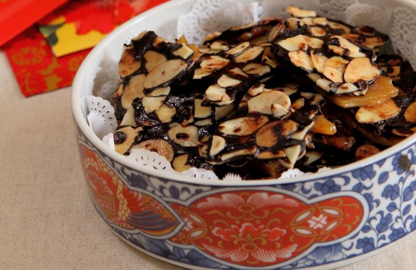 Almond Crunch.