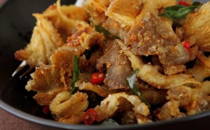Crisp & Spicy Oyster Mushrooms.