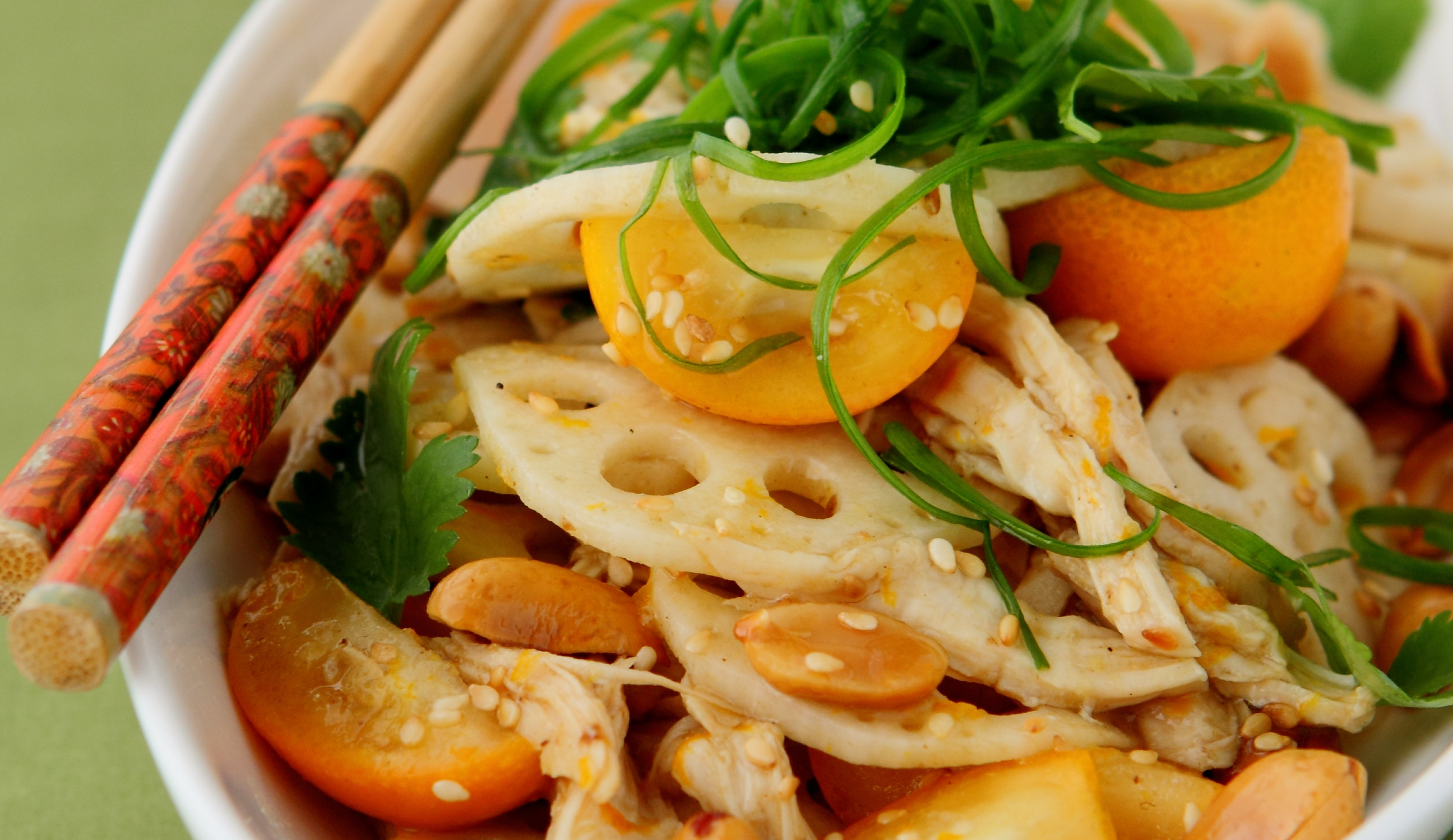 Lotus Root Salad