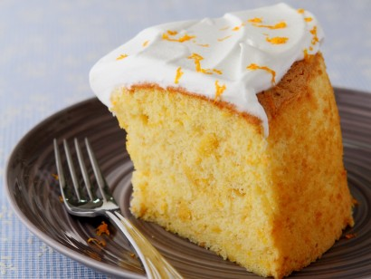 Orange Chiffon Cake.