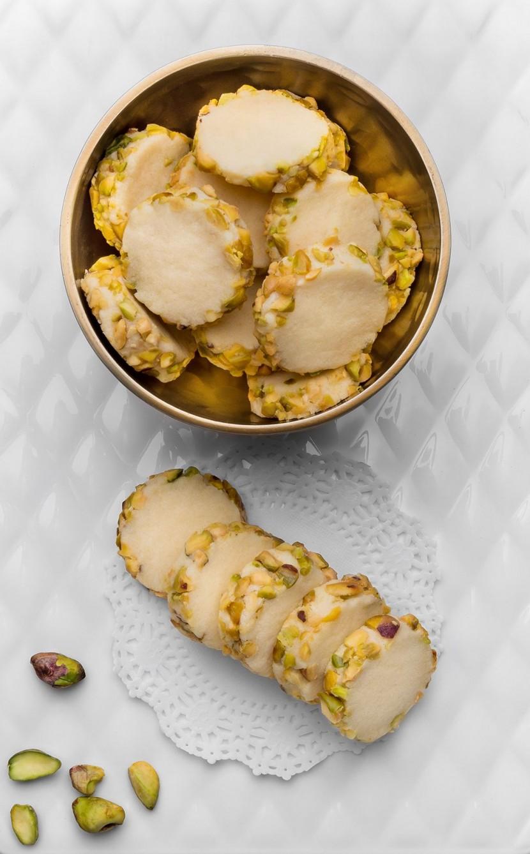 SCS - Precious Pistachio Rollover Biscuits