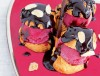 Strawberry and Chocolate Profiteroles