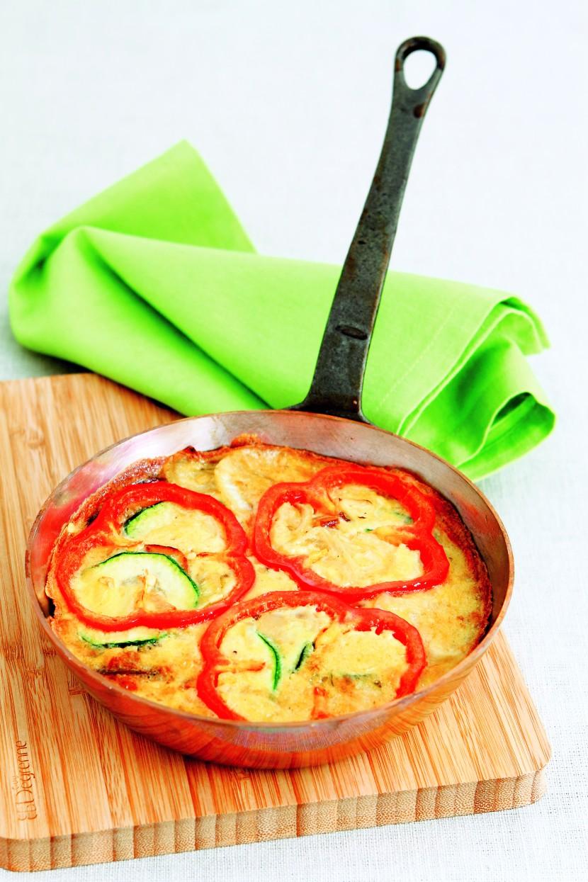 Zucchini & Potato Frittata.