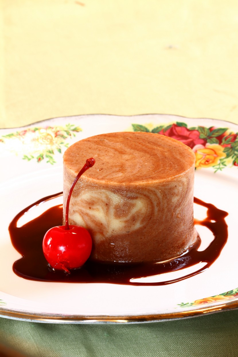 Striped Pudding 1