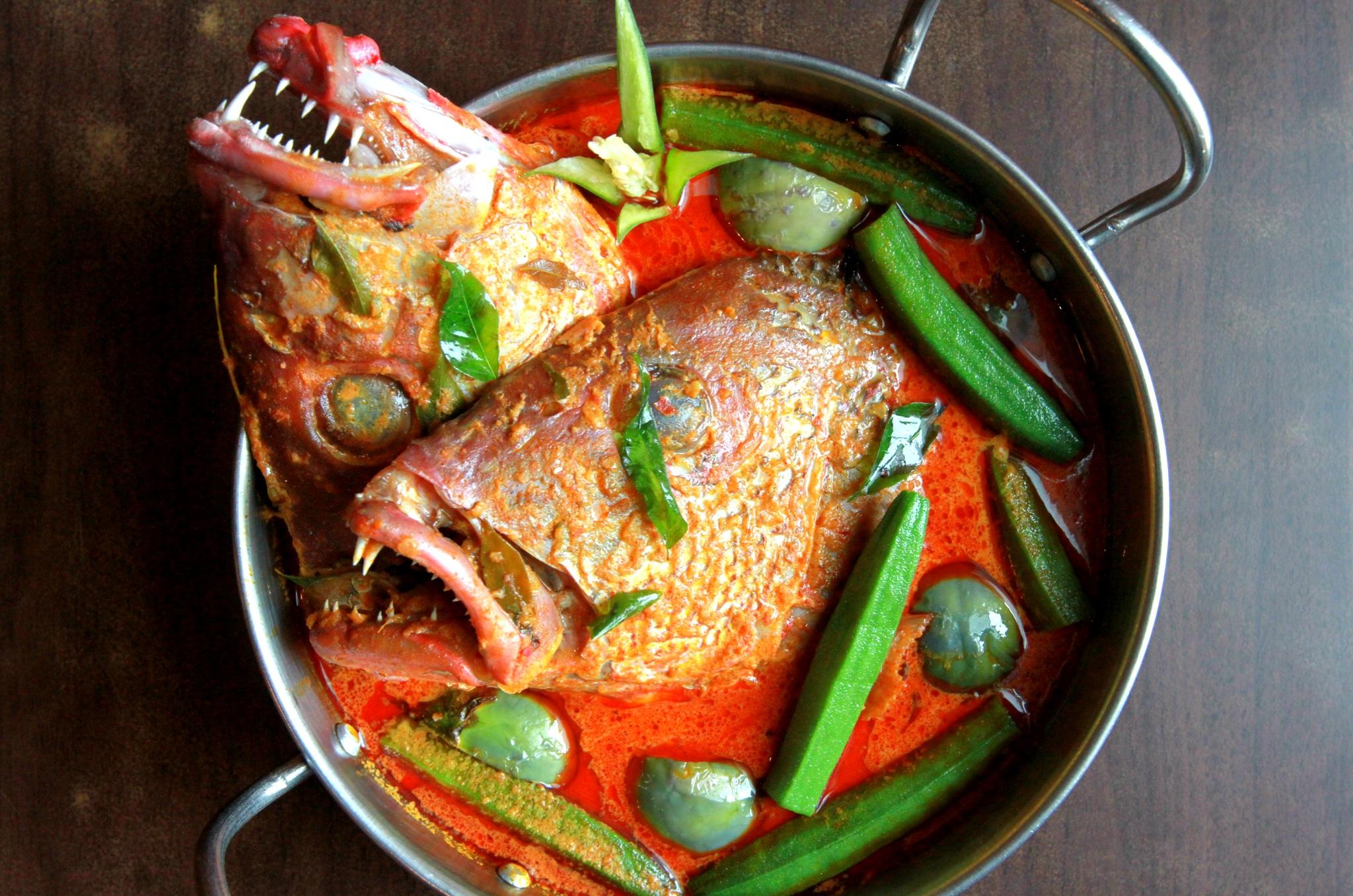 Chef Rram's Fish Head Curry