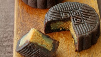 chocolate peanut butter mooncake