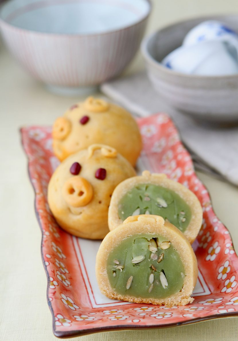 piggy mooncake