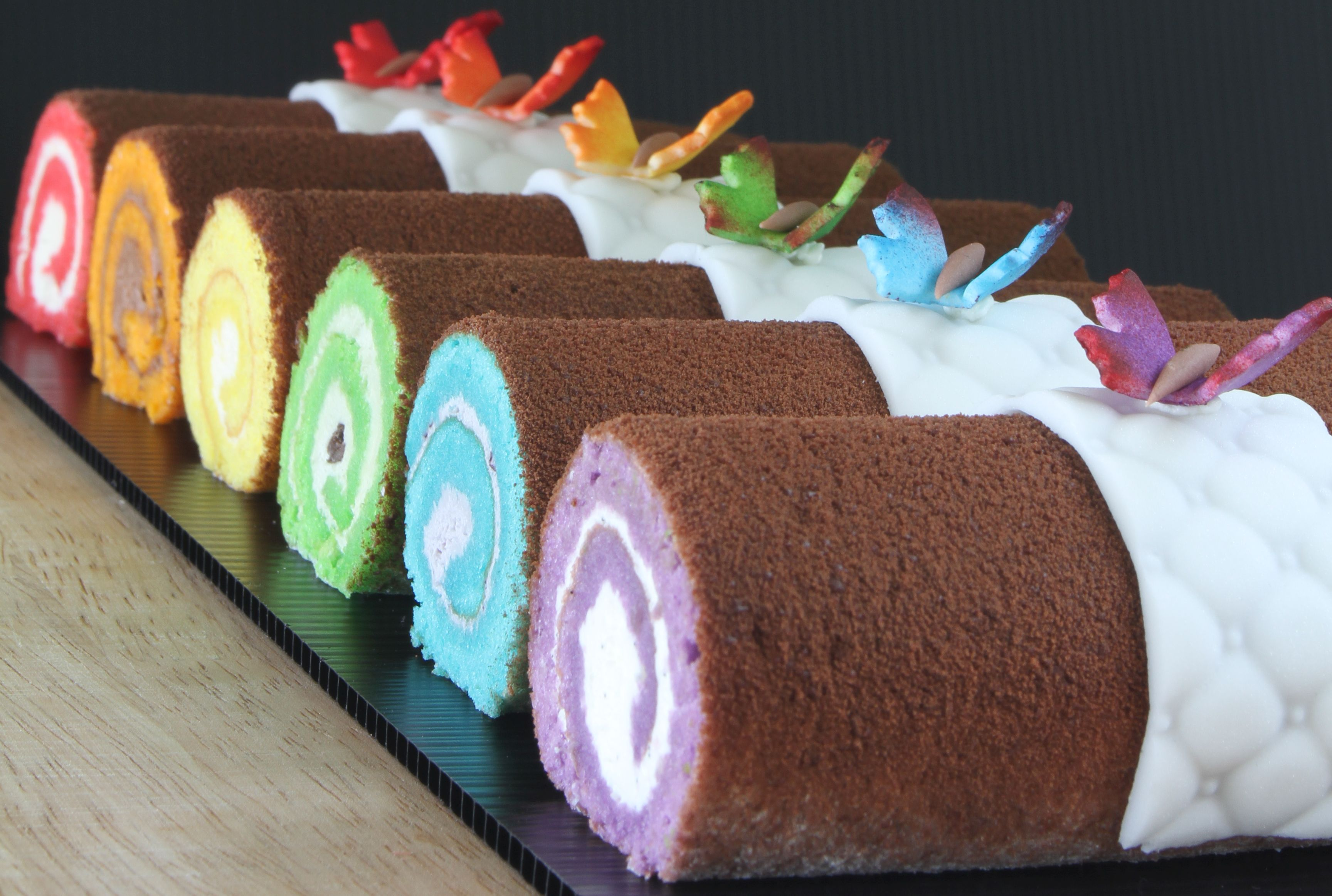 Rainbow Rolls for Raya Open House