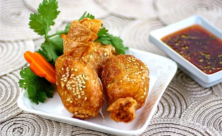 Deep-fried prawn balls - Amy Beh