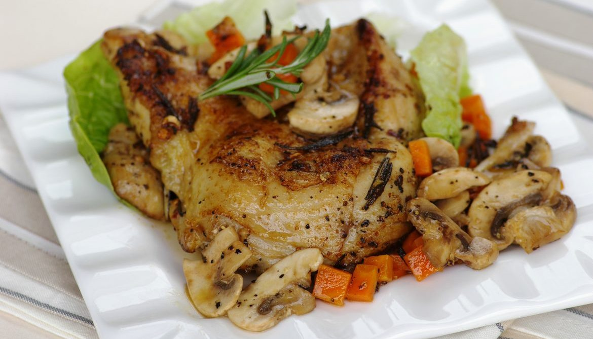 Rosemary Chicken Chop