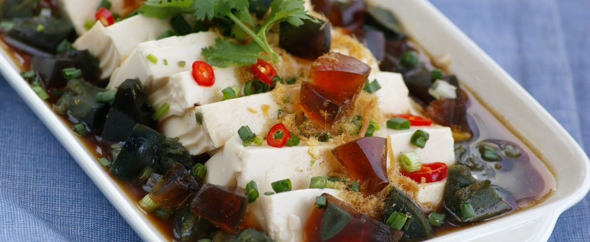 Chilled-Tofu-with-Century-Egg