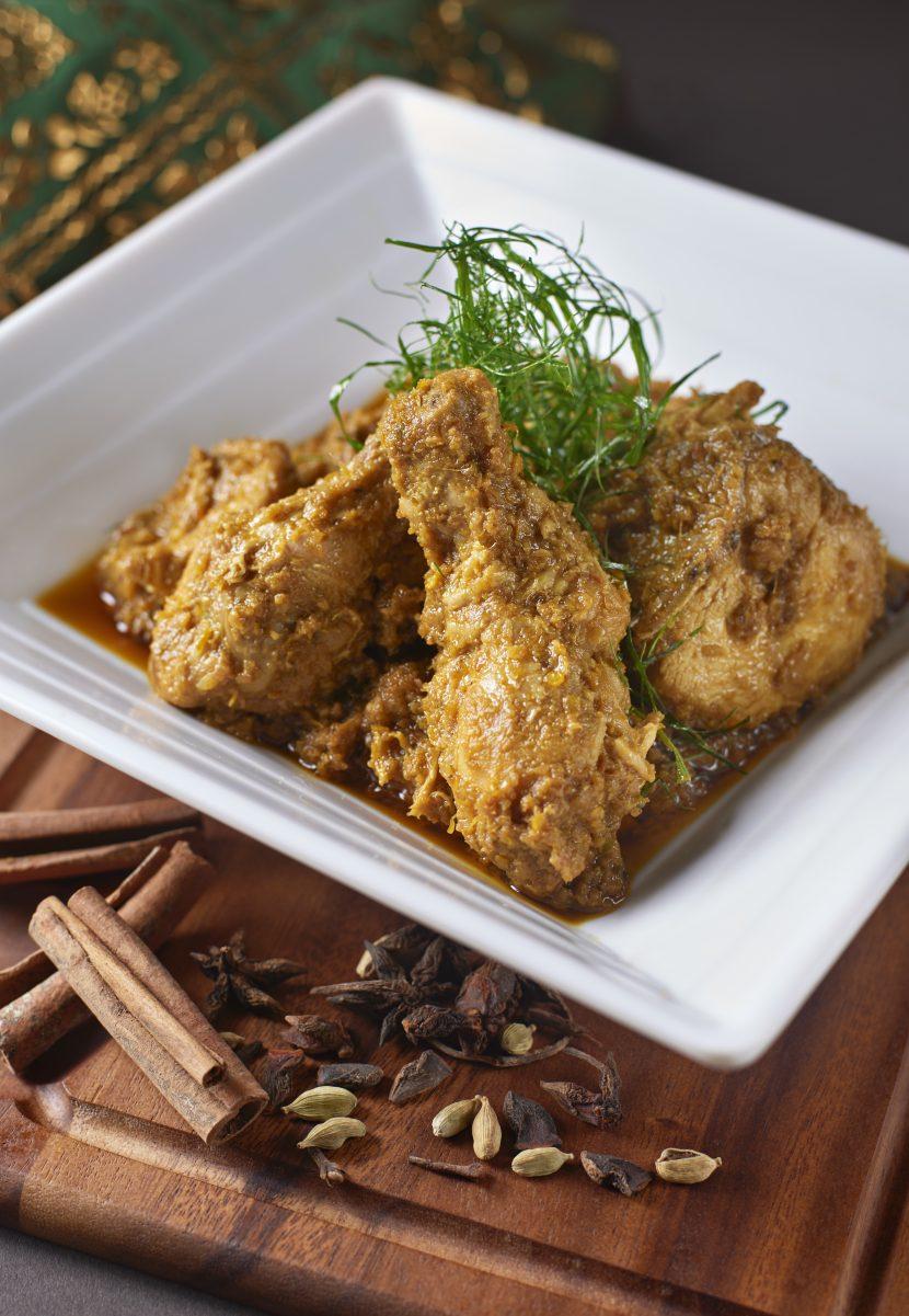 Rendang-ayam from Le Méridien Putrajaya