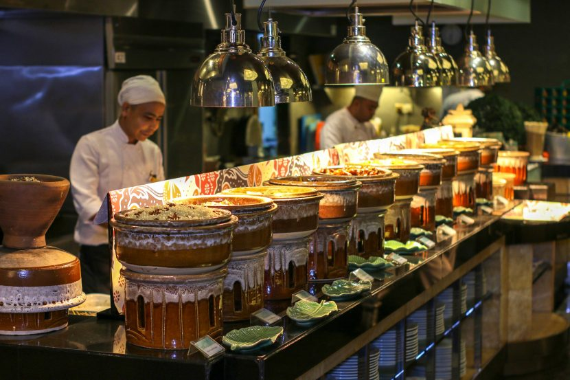 A Variety of Traditional Malay Cuisine - Grand Millenium KL