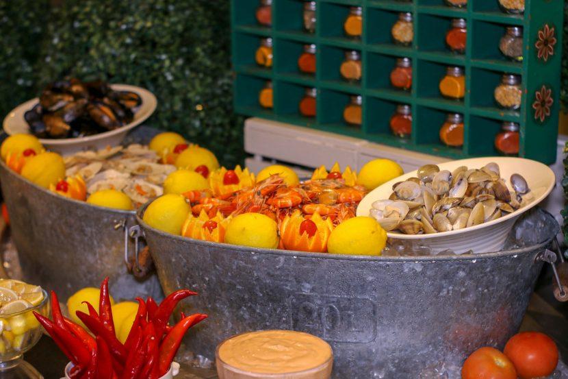 Fresh Seafood on Ice - Grand Millenium KL