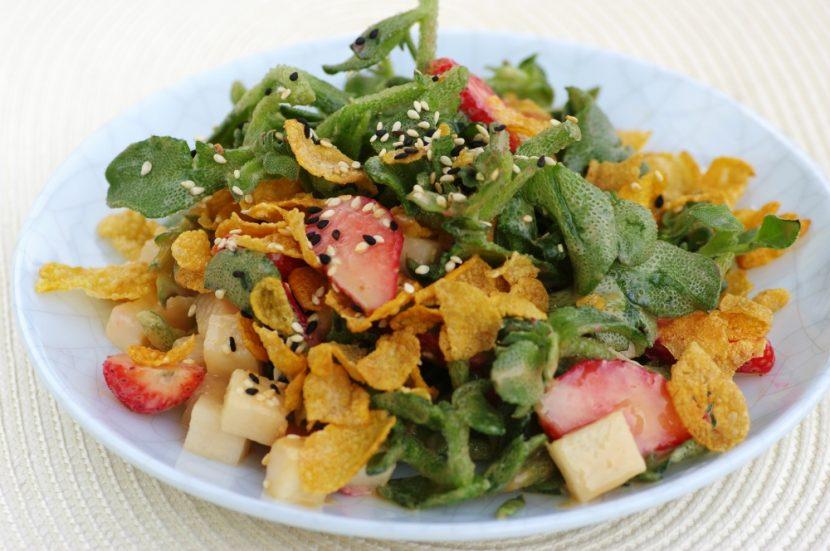Ice Vegetable Salad