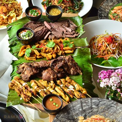 Rama V Thai Buffet Dinner BBQ