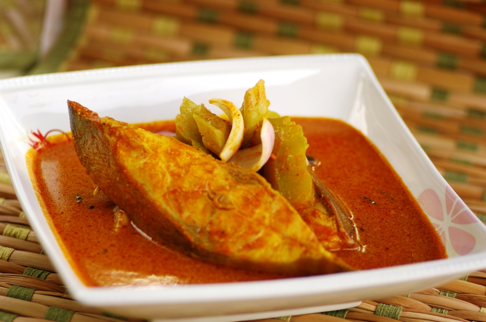 Special Fish Curry with Bitter Gourd