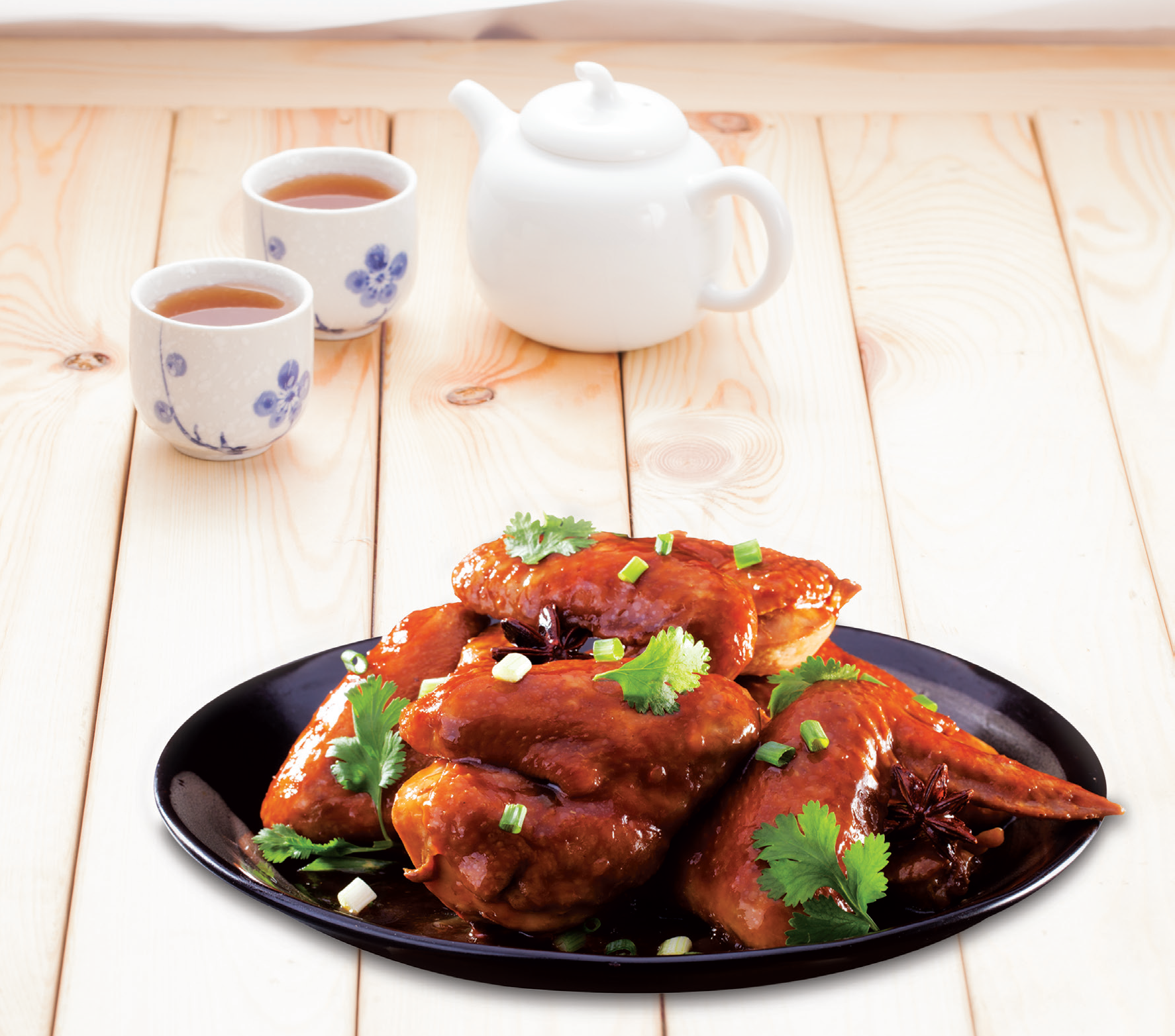 Delicious soy sauce chicken by Angel Brand
