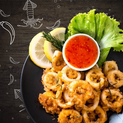 Fried Calamari Rings by Salam Brand