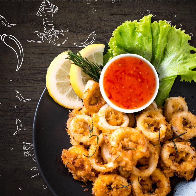 Fried Calamari Rings by Salam Brand