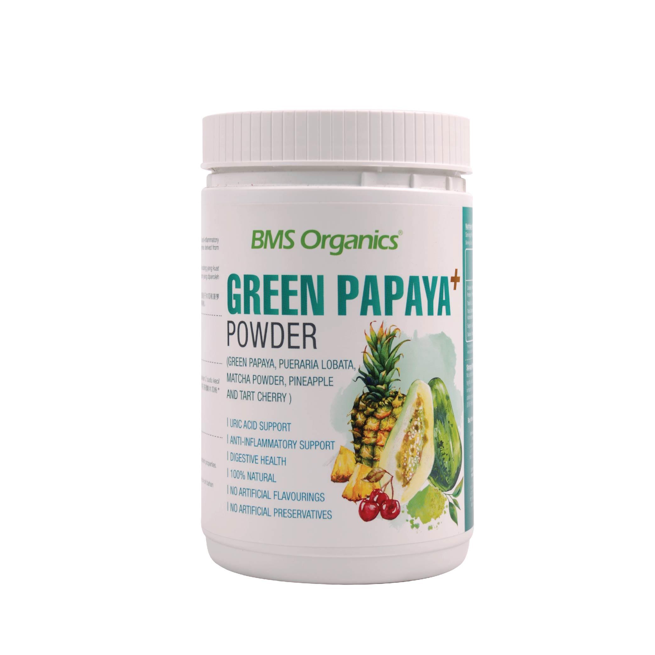 BMS Organics-Green Papaya+ Powder (150g)