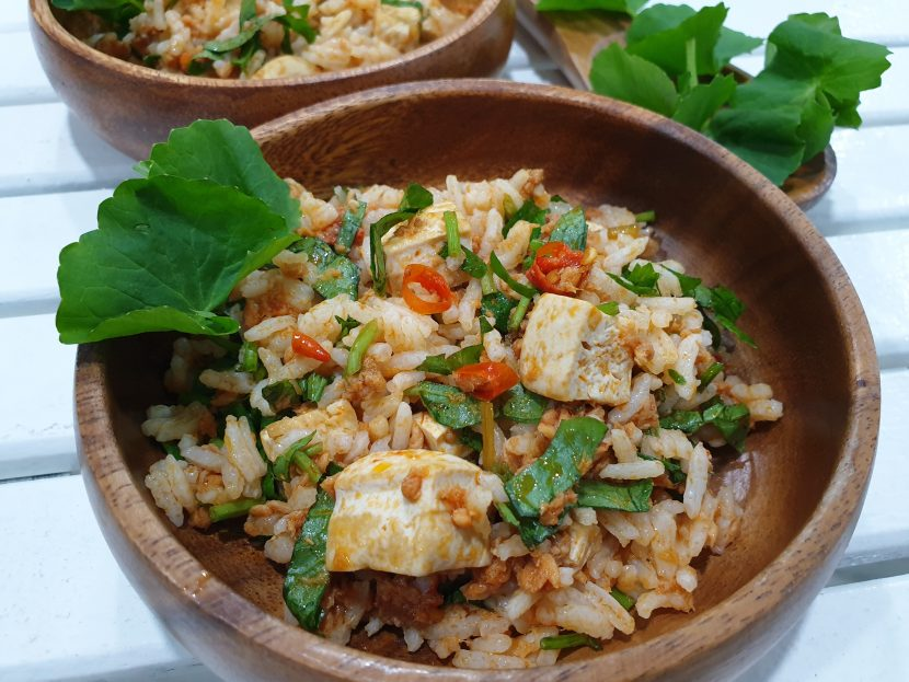 Pegaga Tuna Rice Salad
