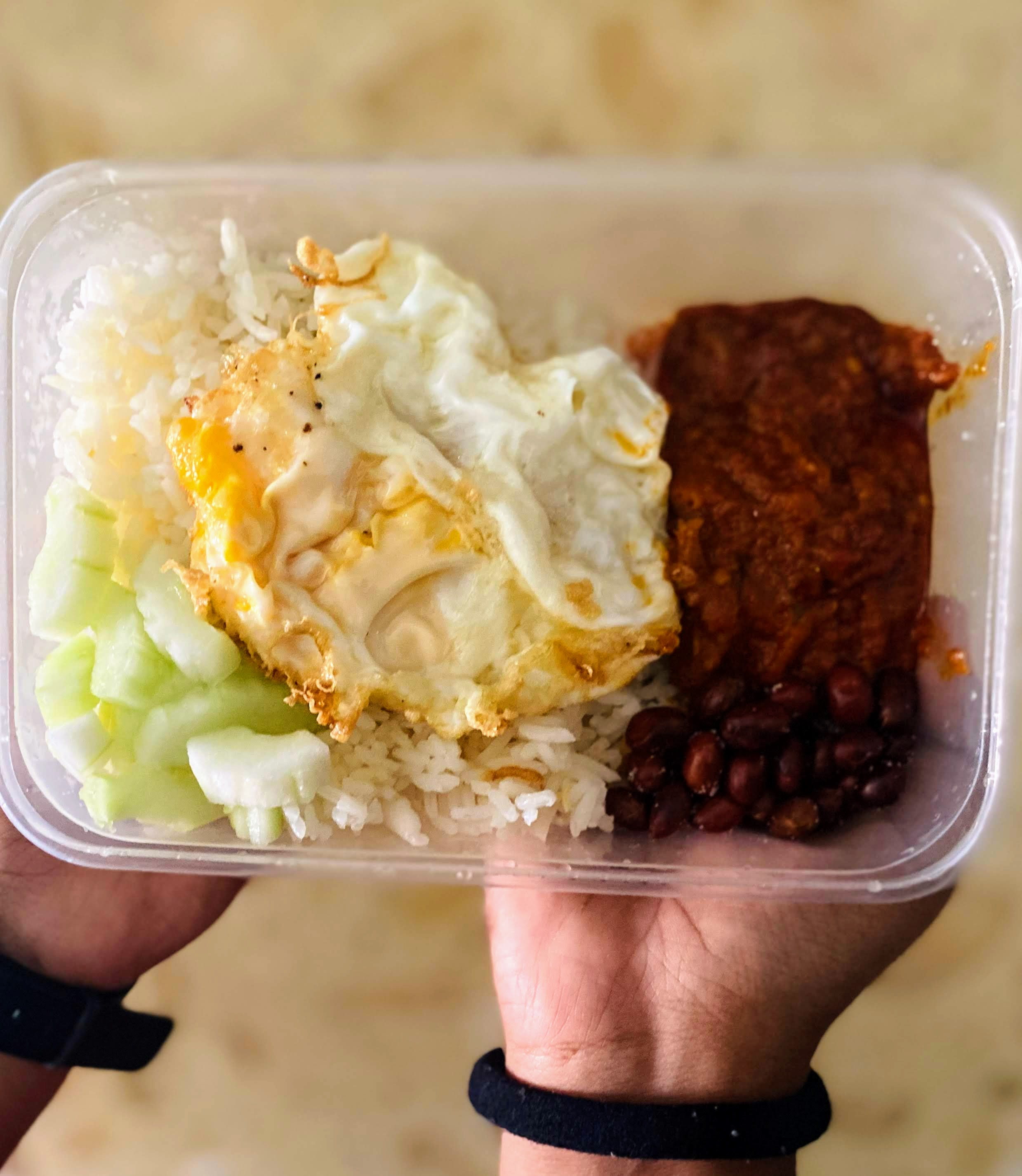 Nasi Lemak Without Shrimp Paste
