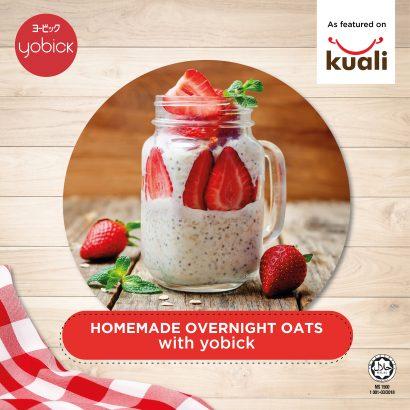 homemade overnight oat