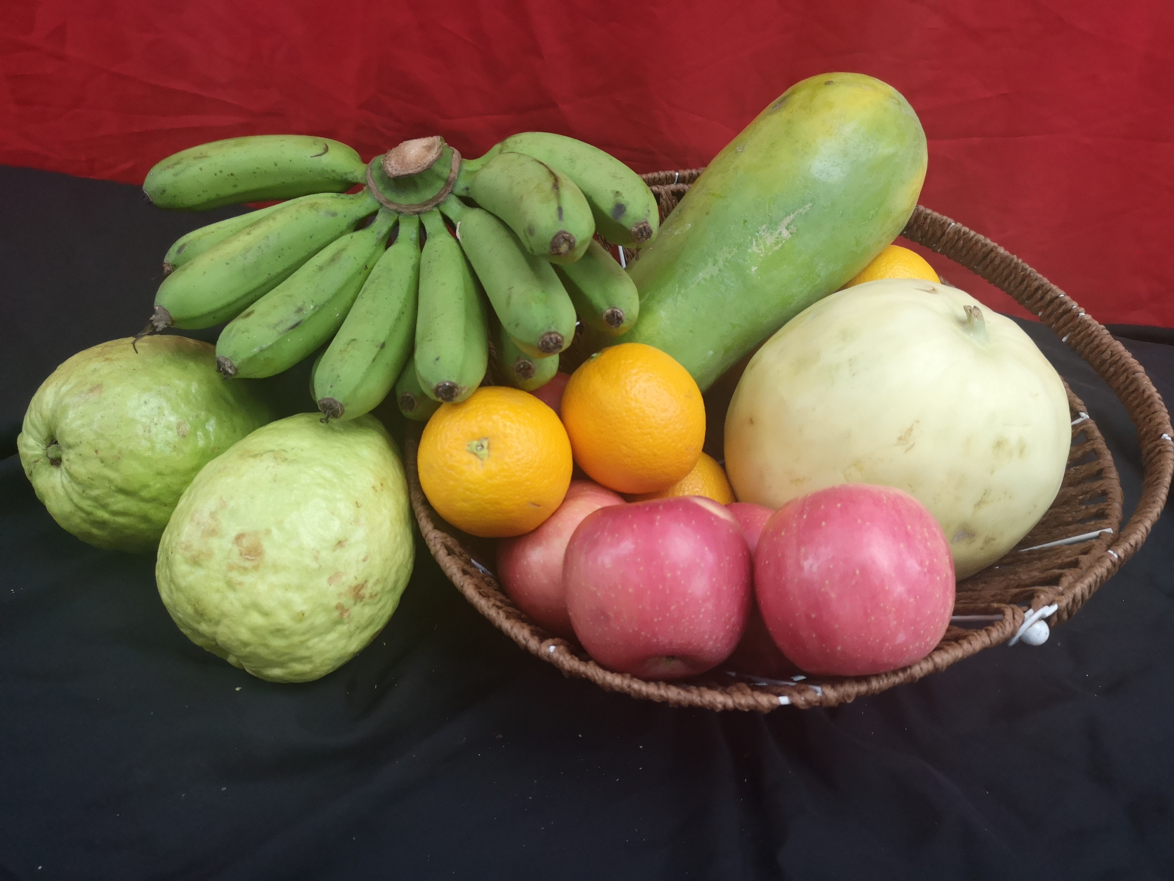 Asia fruit vege