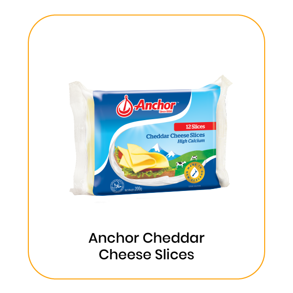 Anchor 12s Processed Cheddar
