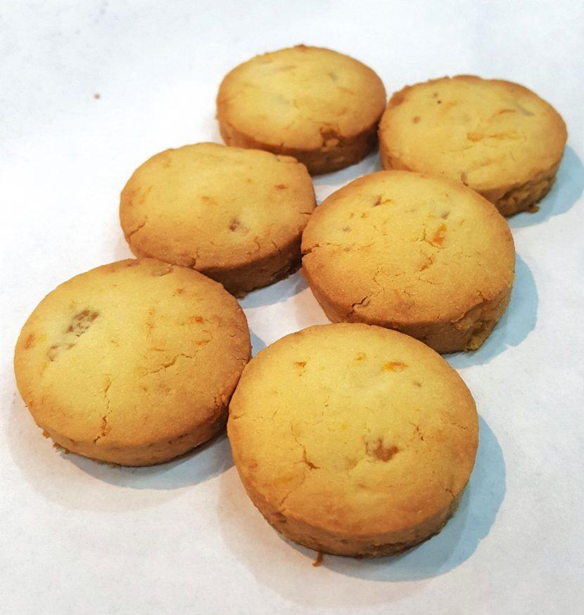 Mandarin Almond Cookies