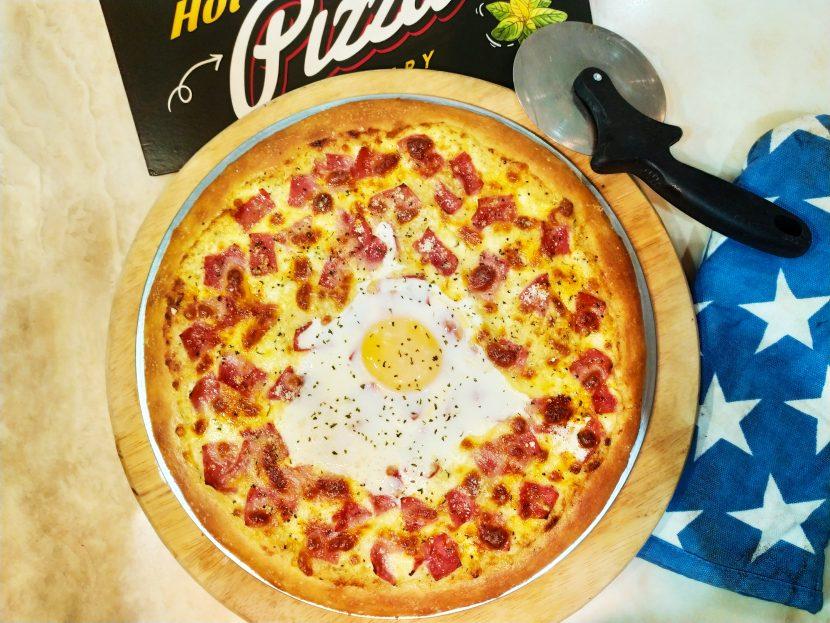 Pizza Ala-Carbonara