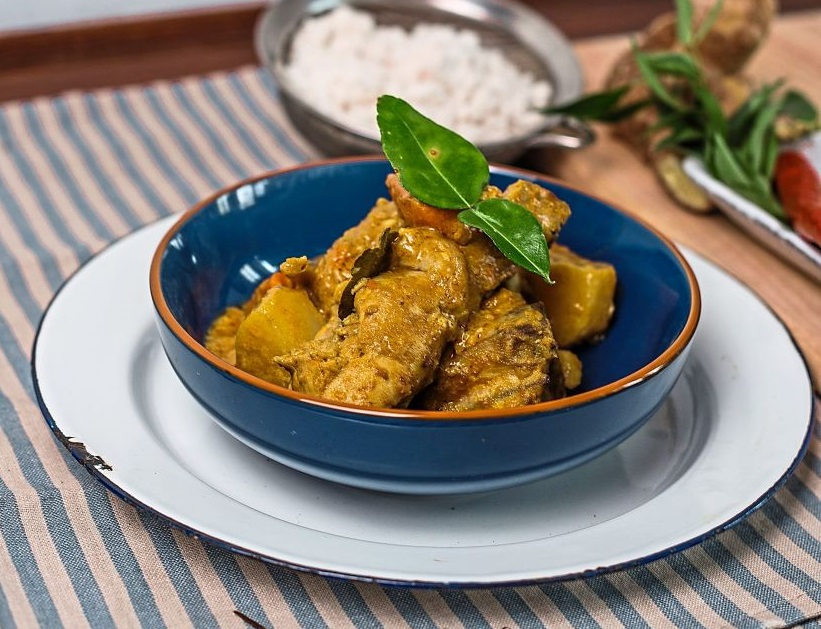 Peranakan-inspired Chicken Curry
