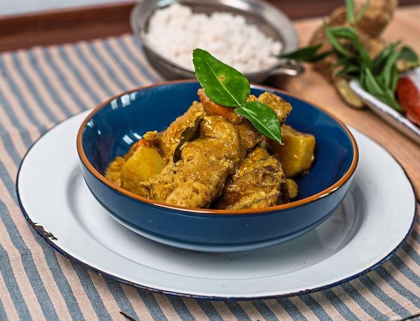 Peranakan-inspired Chicken Curry