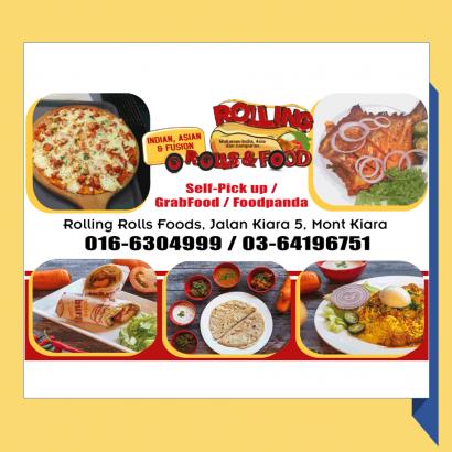 Rolling Rolls Foods Restaurant