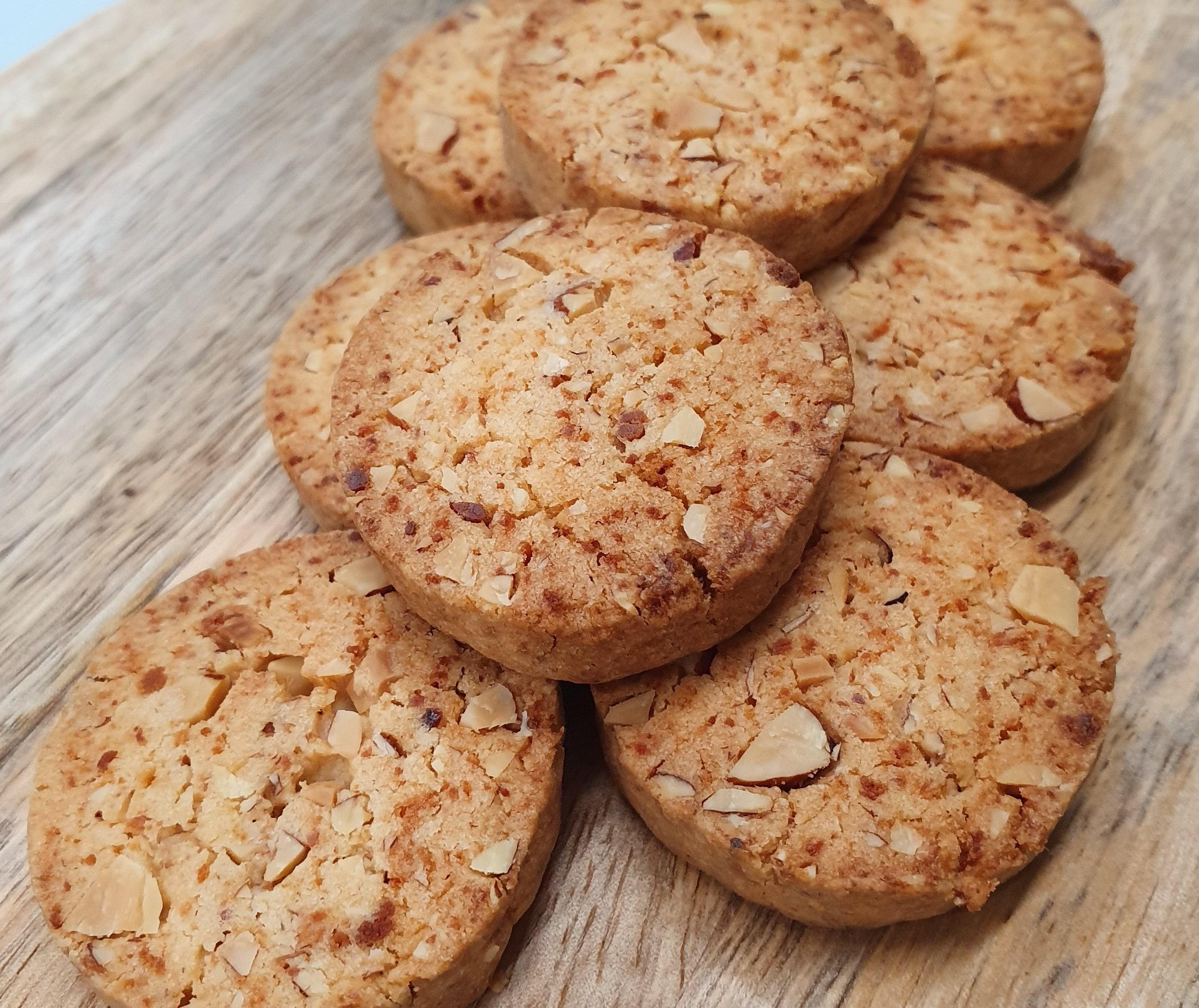 Almond Chicken Floss Cookies